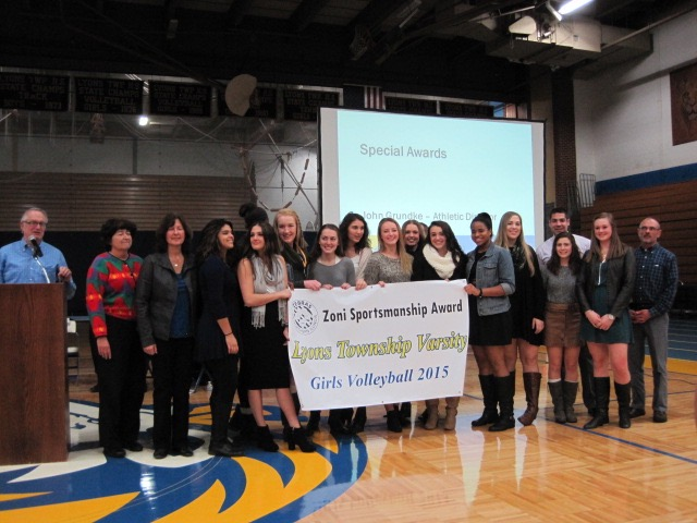 Lyons Township Receives Banner
