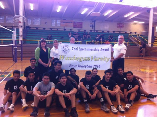 Waukegan Receives Banner