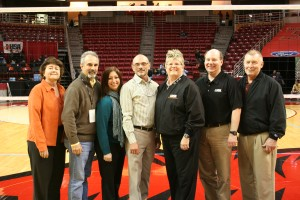 ZONI Members at State: Cindy Panagiotaros, Looie Green, Tracy Levine, Mark Febonio, Julie Colwell, Ed Vesely, and Joe Boshold