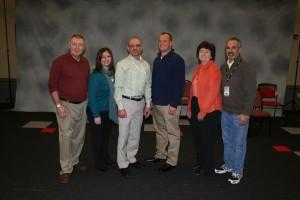 ZONI Members at State: Joe Boshold, Tracy Levine, Mark Febonio, Todd Roth, Cindy Panagiotaros, and Looie Green,